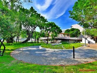 河岸藍帶串聯公園綠帶,營造南區新亮點