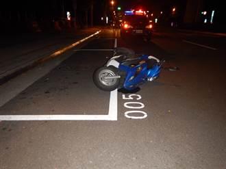 雙B名車撞騎士受傷送醫 同車乘客竟圍觀嘻笑