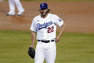 MLB》柯蕭不軟手飆13K 季後賽代表作帶道奇晉級