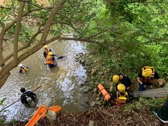 傷心中秋夜 台中38歲男溪釣溺斃大坑攔沙壩