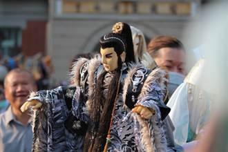 雲林國際偶戲節百人踩街 「男神」音樂會揭開序幕