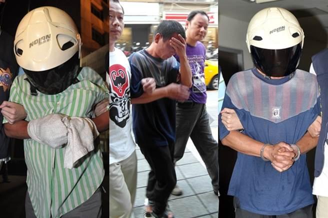 2011年6月9日時,在高雄將此名性侵犯蔡榮樹逮捕到案。(中時資料庫)