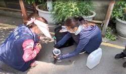 桃園登革熱20例 環保局設病媒蚊誘卵桶監測