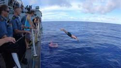 加拿大軍艦行經台海 國軍全程掌握