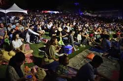 月光.海音樂會 逾5000人伴月耍浪漫