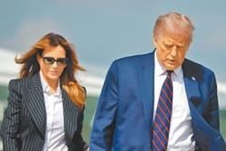美總統大選 果然有10月驚奇 川普確診末日機升空