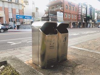 台北垃圾桶搞失蹤 APP標示錯誤百出