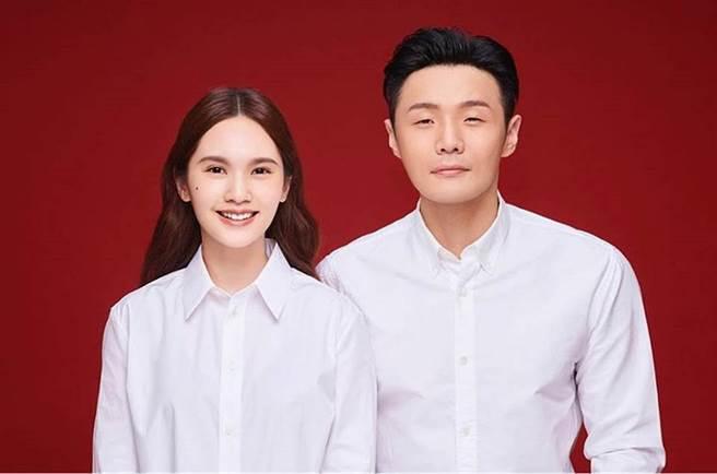 楊丞琳和李榮浩愛情長跑5年,結婚滿1年。(圖/微博@李榮浩)
