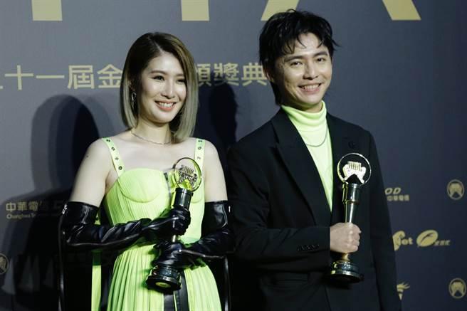 Chick en Chicks拿下最佳演唱組合獎。(圖/廖映翔)