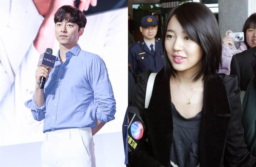 孔劉、尹恩惠當年因《咖啡王子一號店》走紅。(圖/中時資料照片)