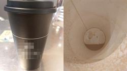 暫離超商沒帶走咖啡 她喝完一看杯底吐了