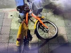 怪異男把Ubike停路中間 害騎士摔車受傷