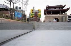 新竹之心東門城廣場地下道 10月底正式開放