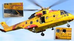 一架加拿大直升機 遭好奇北極熊損壞