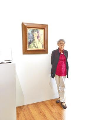 前衛女畫家鄭瓊娟 坎坷造就堅韌