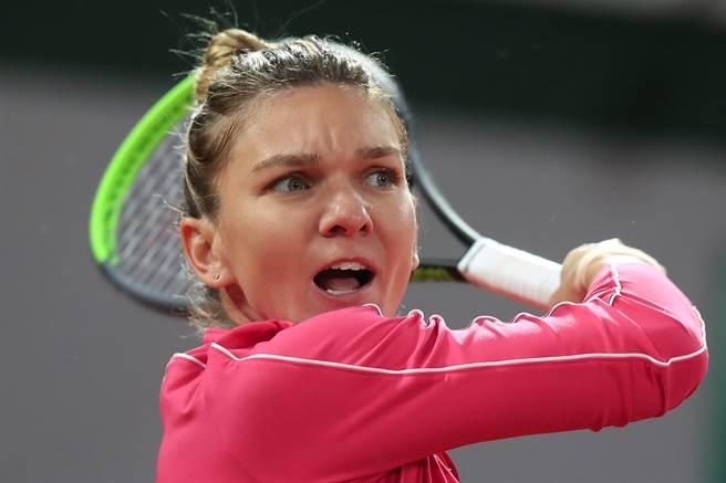 2018法網球后哈麗普在2020法網止步女單16強。(美聯社)