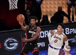 NBA》巴特勒40分大三元 熱火總冠軍賽開胡