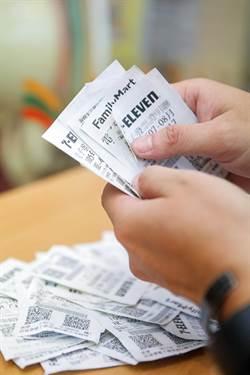 財神大放送 7-8月統一發票200萬以上大獎43張破紀錄