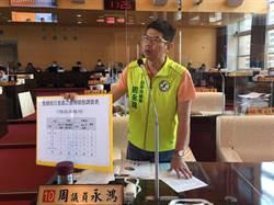 保障合法廠商權益 周永鴻要求加強假日農地搶搭違章巡查