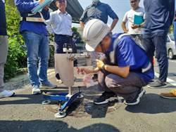 台南永康人手孔抗滑值抽查 自來水、台電未達標