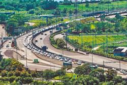 中秋交通量低於端午 雙向最高落在首日