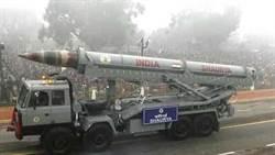 印度密集試射導彈威嚇大陸 新型勇氣導彈可攜核彈頭