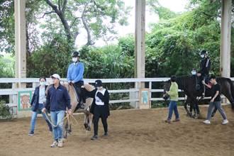 弘光科大推跨領域馬術治療復健課程 教室搬到馬場