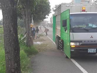 資源回收車大變身 護網防護割草機碎石亂噴