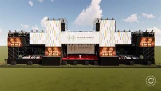 台南國慶焰火主舞台 融入版畫《迎媽祖》守護台灣