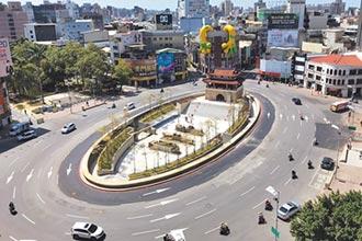 新竹東門城整修 被酸像墓地