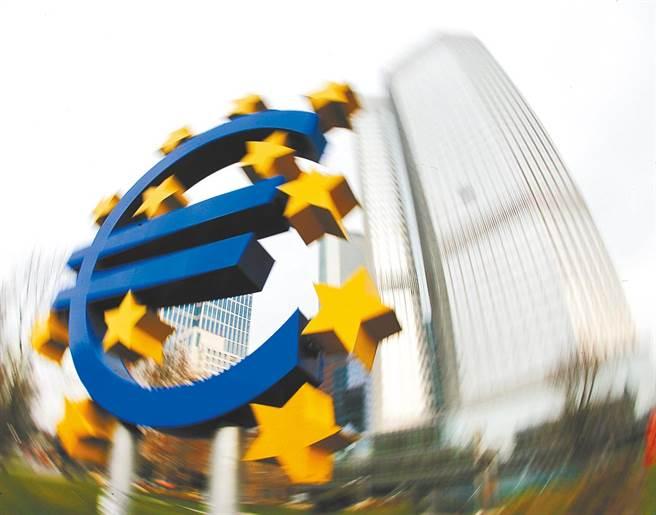 歐洲央行最快明年啟動數位歐元。(法新社資料照片)