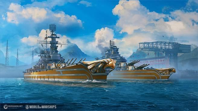 《戰艦世界》發表0.9.9版本更新  美國主力艦進入搶先體驗階段(圖/戰遊網提供)