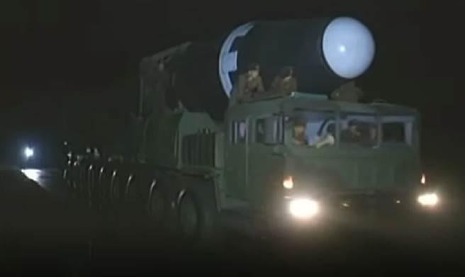 北韓可能在10日建黨節展示火星15型洲際彈道飛彈。(圖/defence-blog)