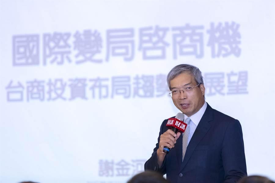 財信傳媒董事長謝金河。(本報系資料照片)