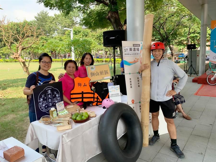 高市觀光局推出「乘風而騎」單車遊程,主打鳳山等5大路線,融合在地人文風情、美食等。(柯宗緯攝)