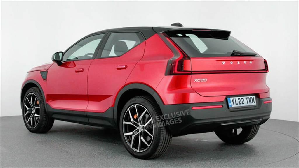 Volvo 預告推出 XC20 小型電動休旅車:SEA 平台打造、搶攻超夯小型跨界市場