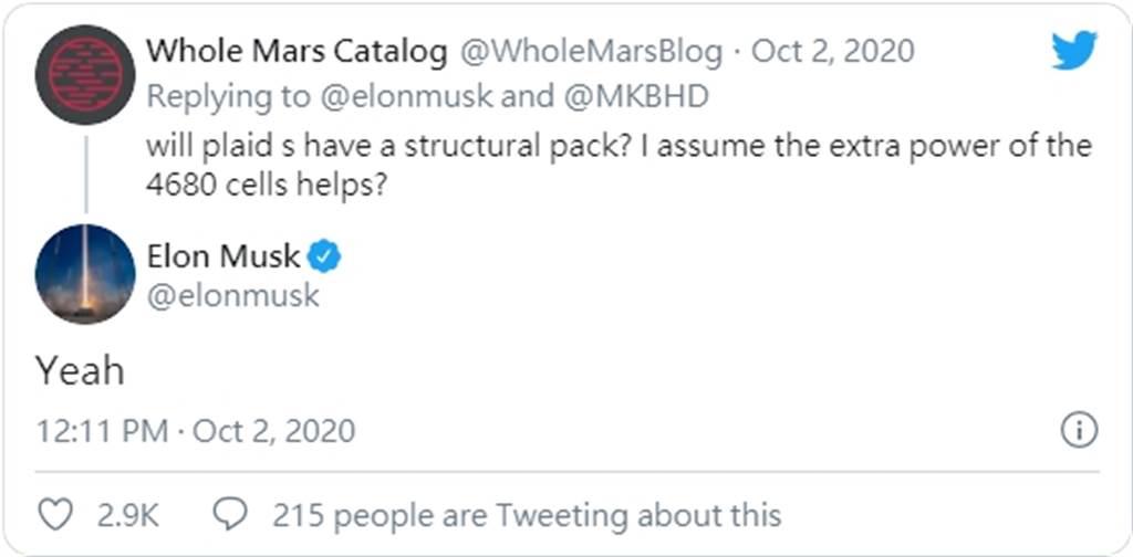 Model S Plaid 改很大!馬斯克證實採用 4680 新電池系統,背後還有多少祕密還沒講?