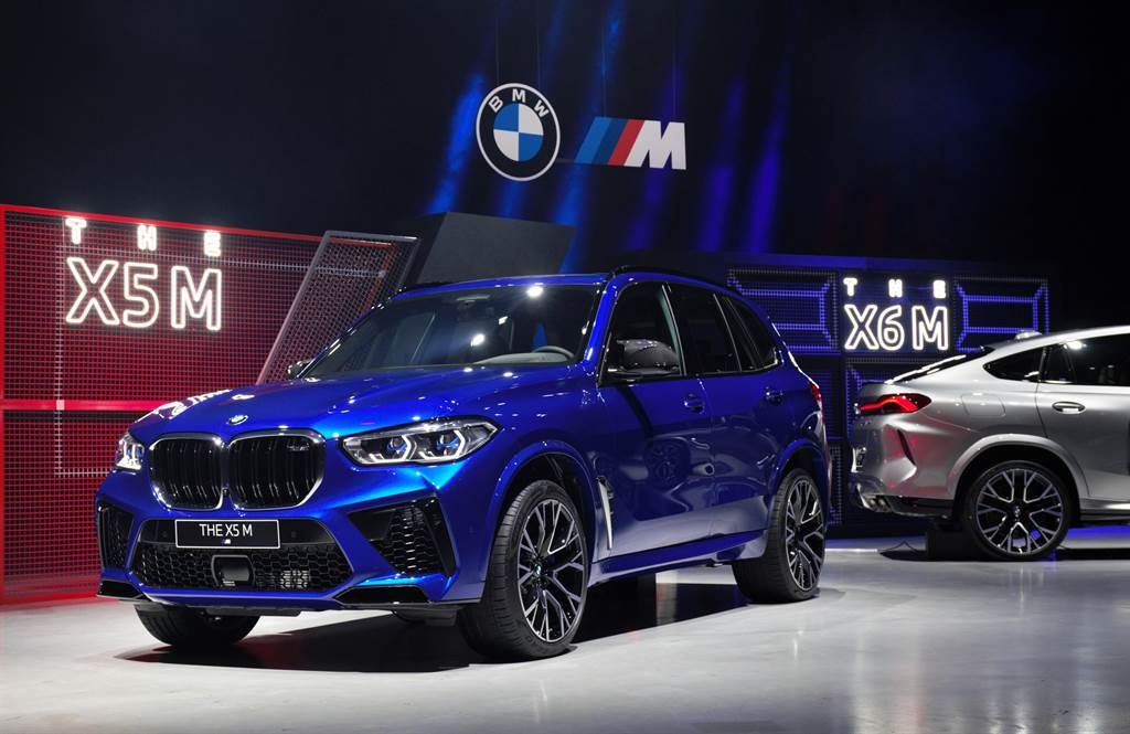 BMW最速休旅X5M登台 688萬元真「超值」?