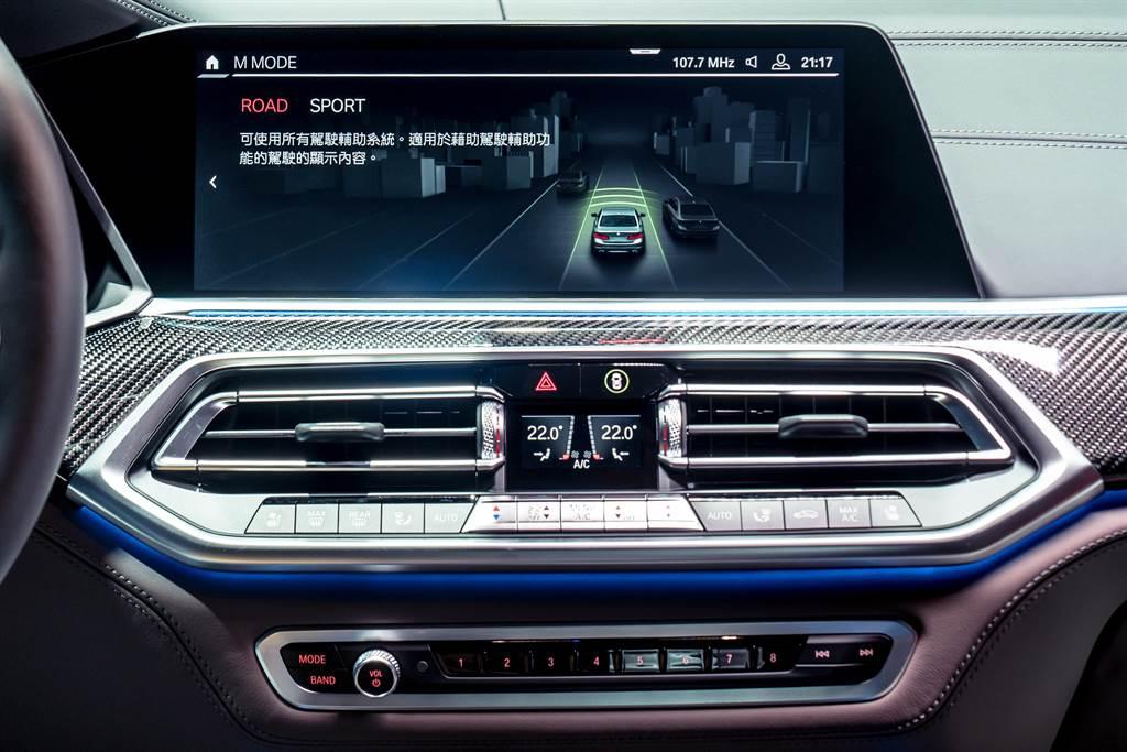 M MODE駕馭模式切換功能,可依路況與需求透過12.3吋中控觸控螢幕選擇Road或Sport模式。