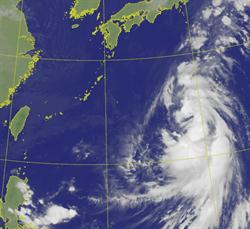 昌鴻颱風增胖中 最高機率路線曝 國慶2地區有大雨