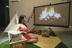 OVO推出百吋無框電視K1 爽看正版影視內容還能K歌