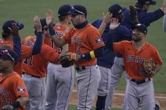 MLB》太空人火力全開 10比5勝運動家拔頭籌