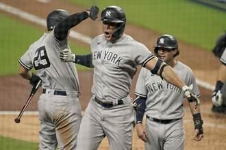 MLB》嗆爆光芒「98仔」 洋基怪力男滿貫轟