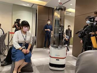 智慧移動消毒機器人獲歐盟認證 加入台南防疫行列