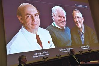 發現C肝病毒,拯救全球數百萬人性命 諾貝爾醫學獎 英美3學者共享