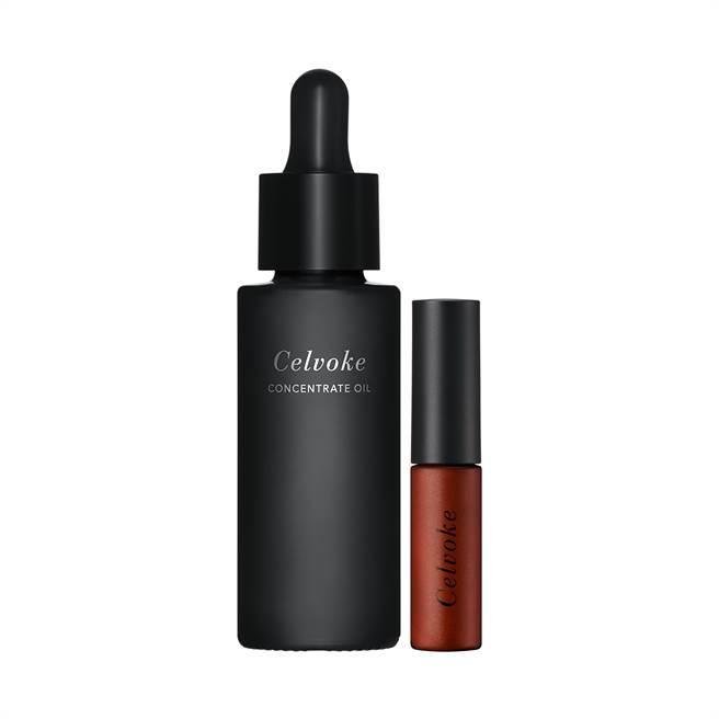 深受彩妝師們喜愛的CELVOKE明星品「上質活顏前導精粹油」推出45ml加大版本,現在入手就送玩色晶漾唇蜜 07,是鐵粉必購入的特惠組。(圖/品牌提供)