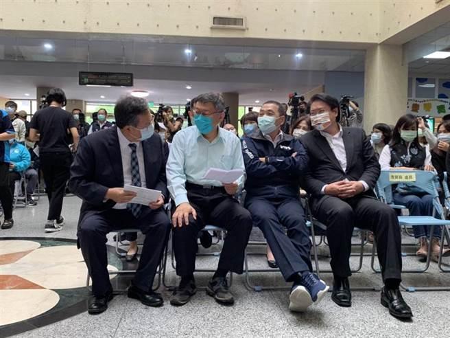 北北基桃四市長合體 侯友宜:地理分工讓市民有感(姜霏攝)