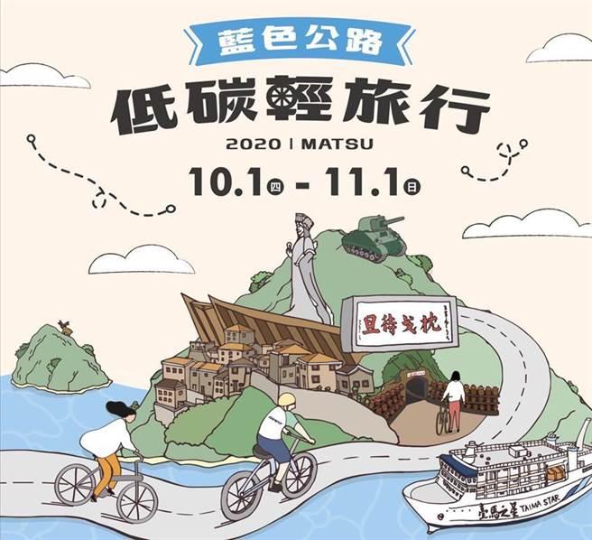 (馬祖自10月辦理「藍色公路-低碳輕旅遊」的系列活動。圖/業者提供)