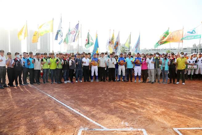 台南市2020年巨人盃全國青棒錦標賽將於6日至11日登場。(台南市政府教育局提供/李宜杰台南傳真)