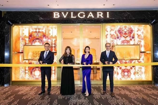 (宝格丽晶华酒店新开幕,端出逾10亿、百件顶级珠宝腕表抵台巡展。图/宝格丽提供)